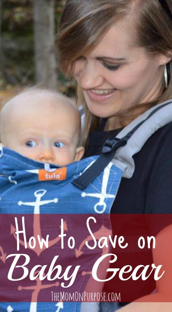 How to Save on Baby Gear