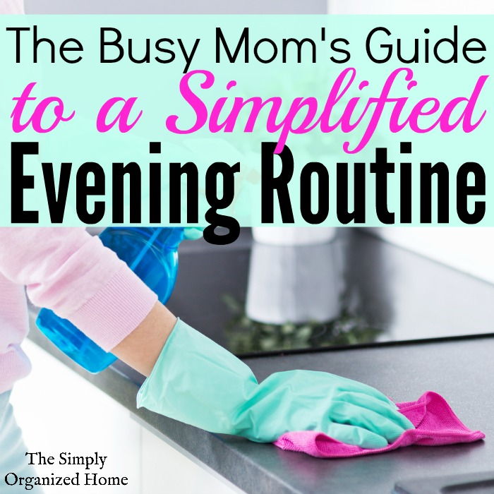 Are you overwhelmed each morning because your house is a disaster? Productive mornings start with an effective evening routine the night before. Find out how you can simplify yours to fit your life and be productive with the time you have.