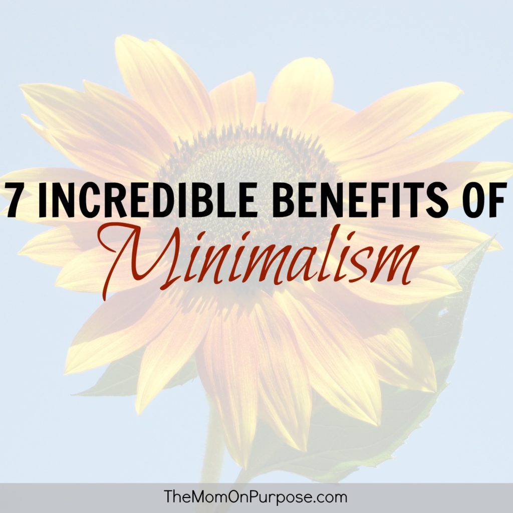 7 incredible benefits of minimalism the simply organized for Benefits of minimalism
