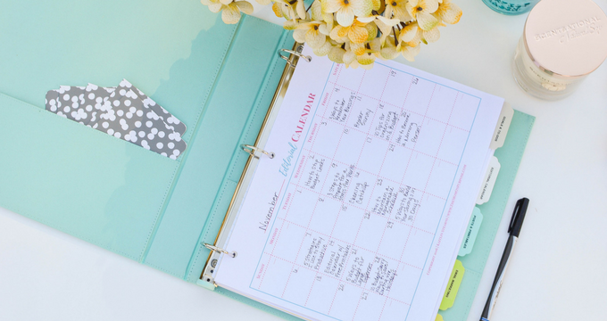 How to Create an Editorial Calendar {with FREE Printables!}