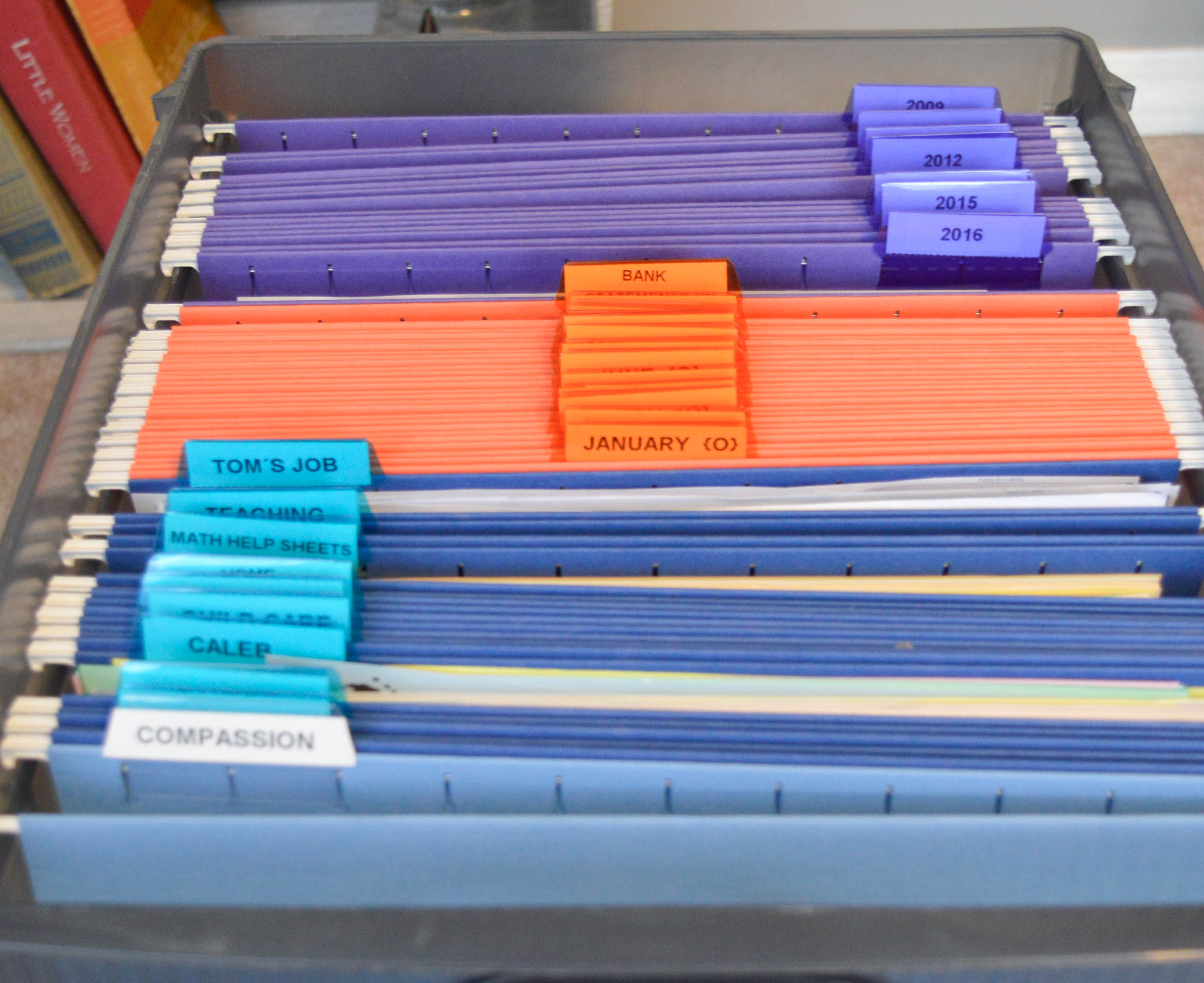 Create an Organized Filing System The Simply Organized Home