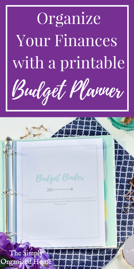 Organize Your Finances with a Printable Budget Planner