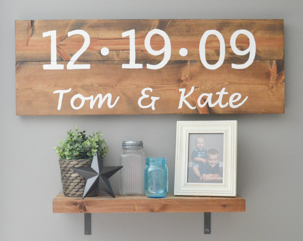 Are you looking to add some character to your home on a serious budget? These DIY Rustic Wood Signs are super easy and very affordable to make! Pop over to get the tutorial!