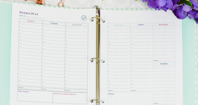 Organize Your Week with Time Budgeting