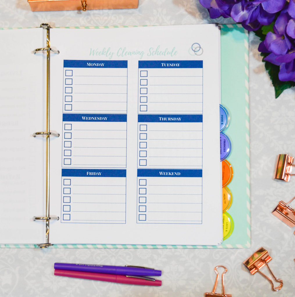 A Simplified Home Management Binder - The Simply Organized Home