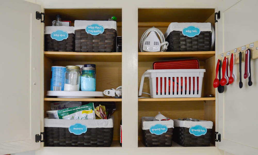 I Knew I Needed To Coral Items As Best As Possible So I Opted To Use  Baskets I Found On Sale At Walmart For Just $1.75 Each. I Also Used My  Favorite Lazy ...