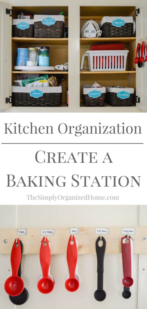 Kitchen Organization Create A Baking Station