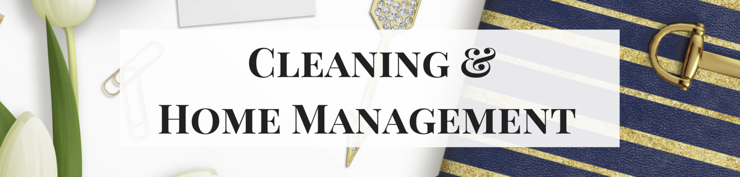 Cleaning & Home Management