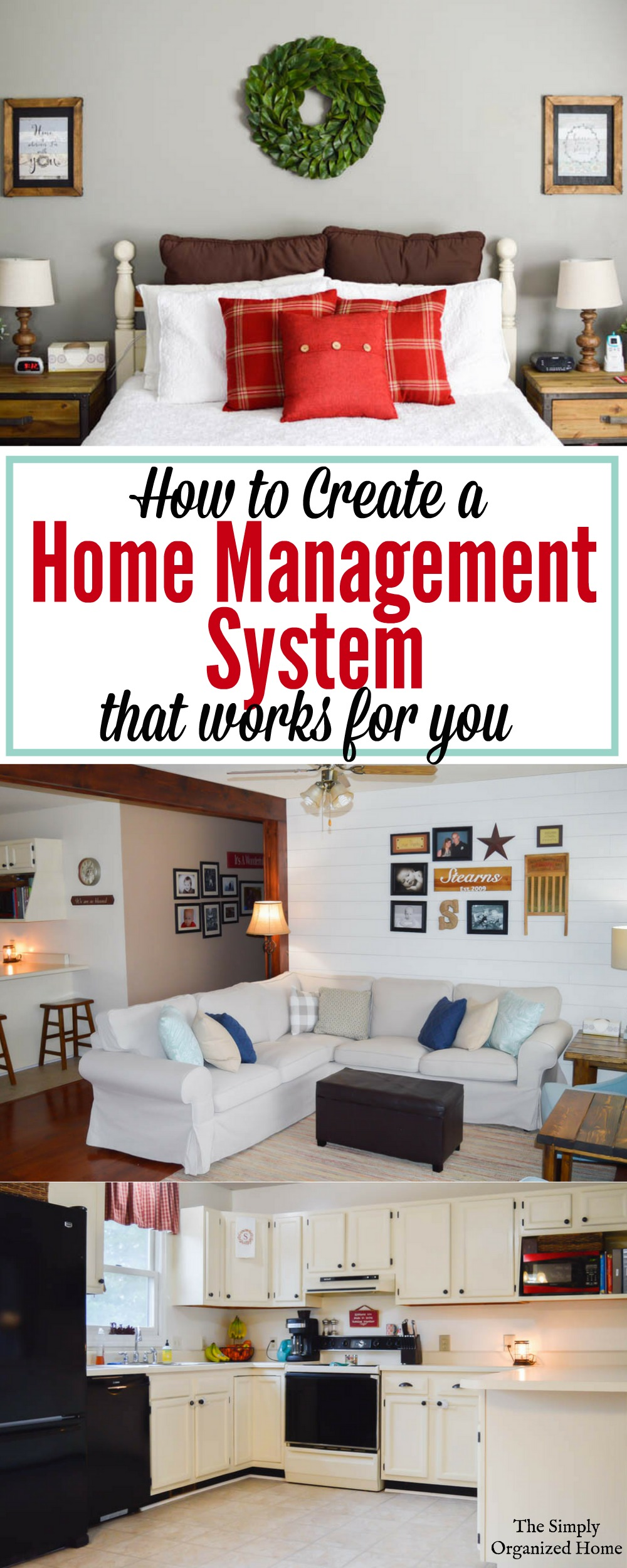 When you think of all of the many parts of homemaking, it can seem overwhelming. However, it doesn't have to be if you create a system that works for you.