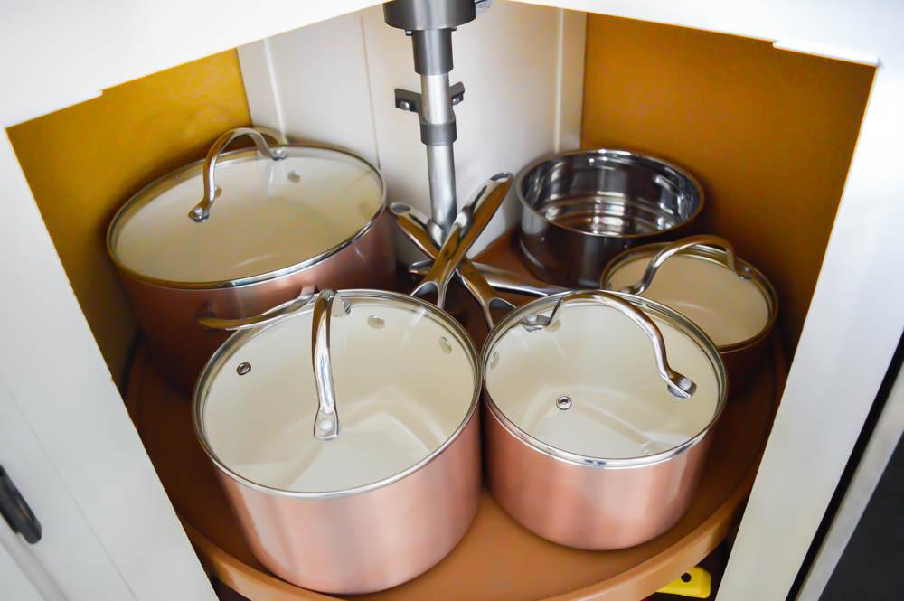 Kitchen Organization Organizing Pots And Pans Small Liances