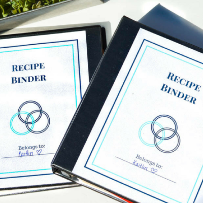 How to Organize Your Recipes with a Recipe Binder