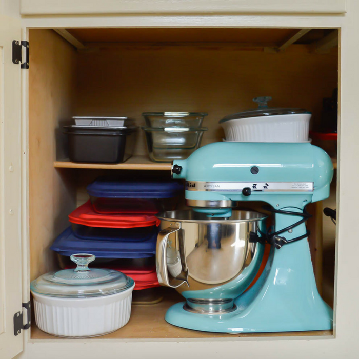 Kitchen Organization: Organizing Pots, Pans & Small Appliances