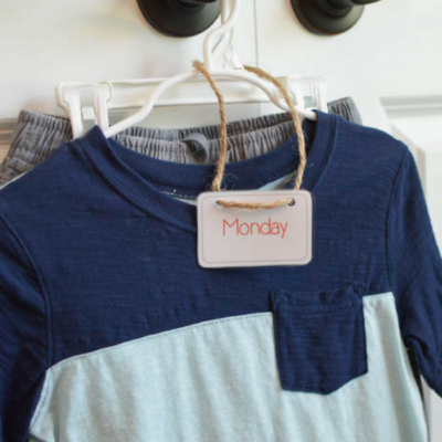 Organize Kids Clothes for Easy Mornings