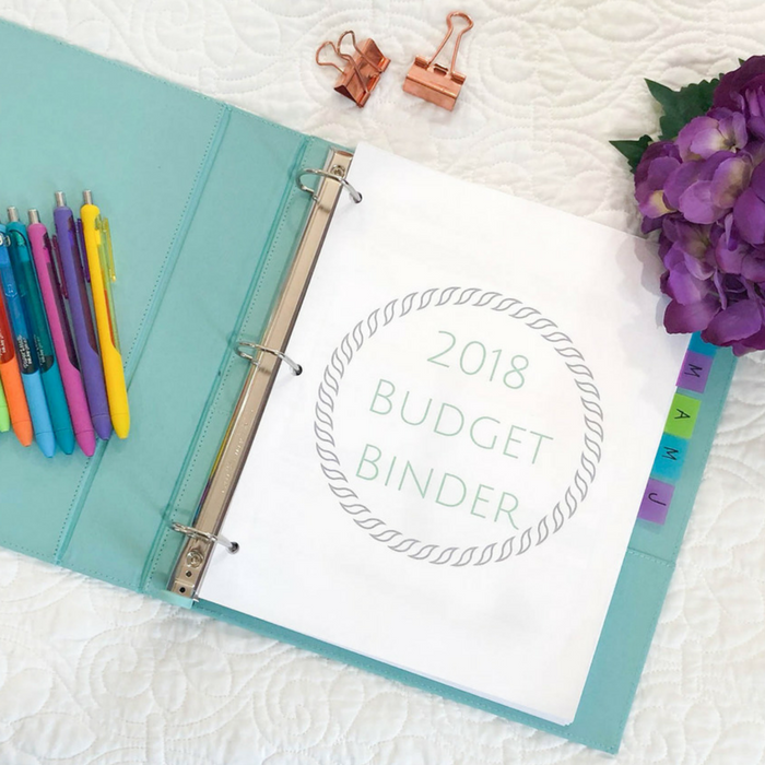 The 2018 Budget Binder is HERE!!