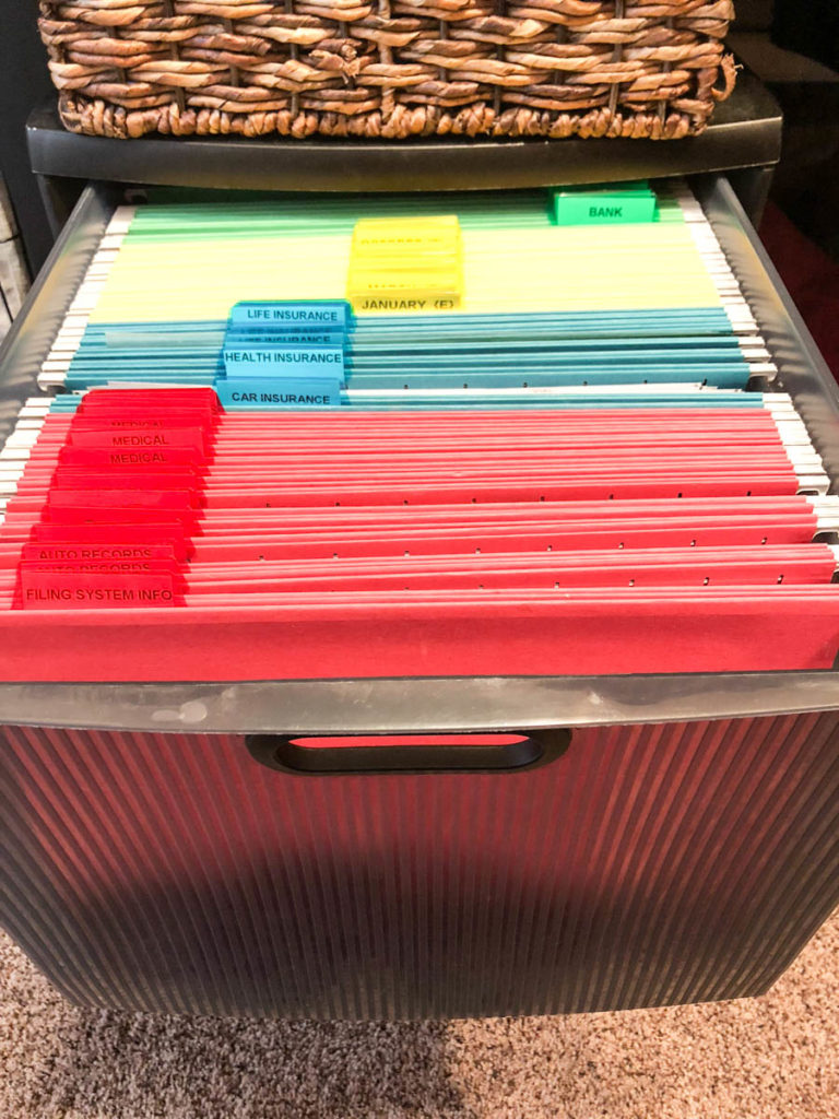 My Entire Paper Organization System