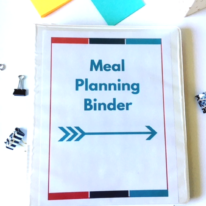 How to Setup a Meal Planning Binder