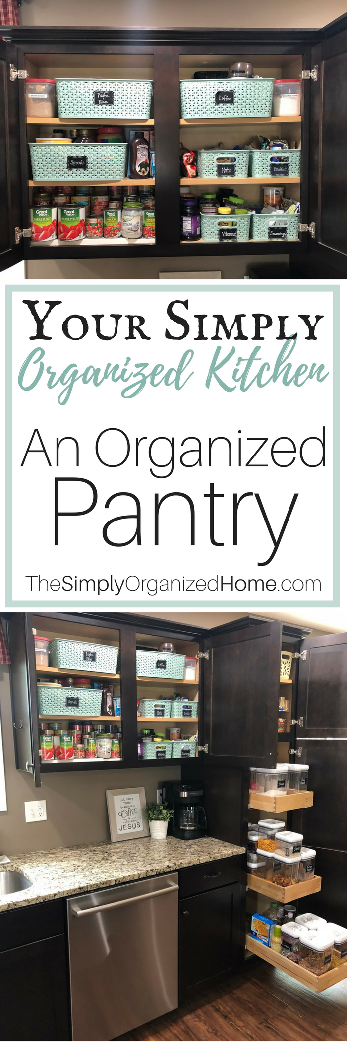 Simplify Your Kitchen with an Organized Pantry - The Simply ...