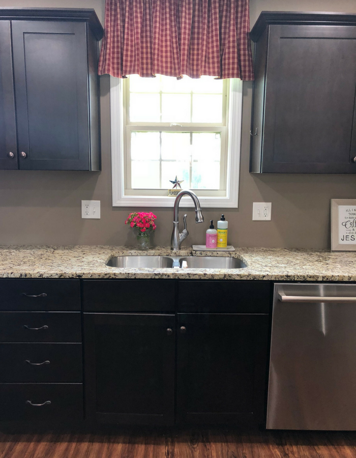 kitchen sink area & kitchen sink area - The Simply Organized Home