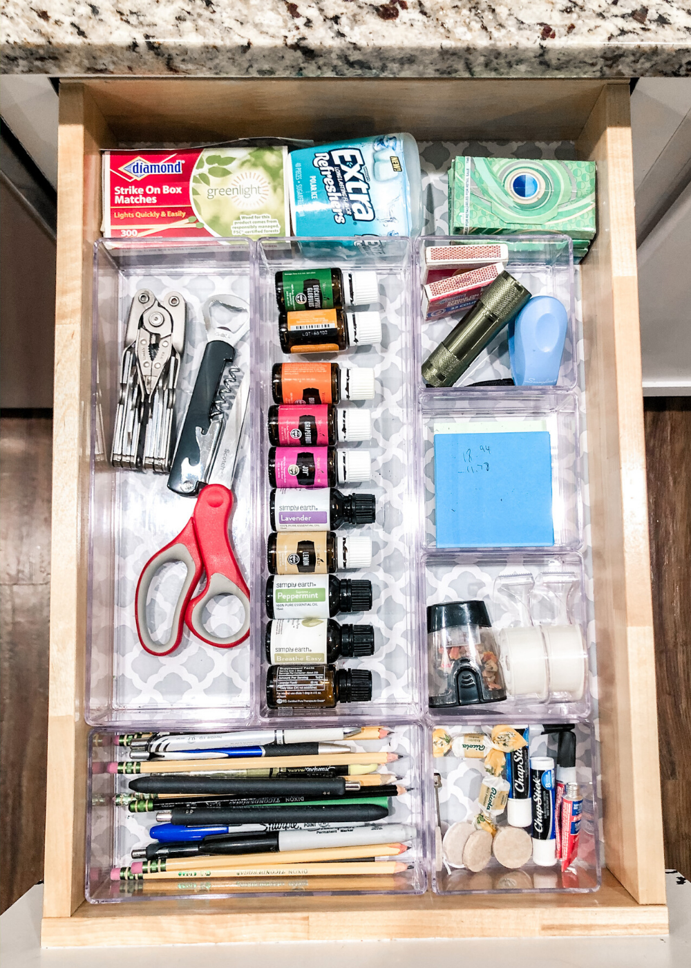 Kitchen Organization - Junk Drawer