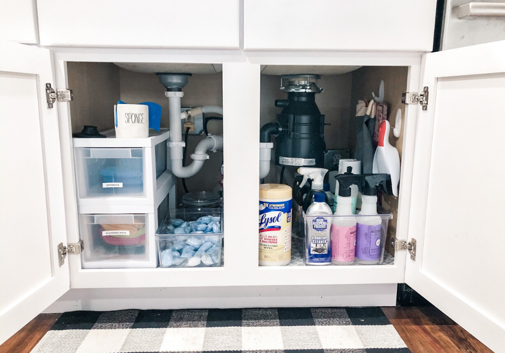 Organized Kitchen - Under the Kitchen Sink