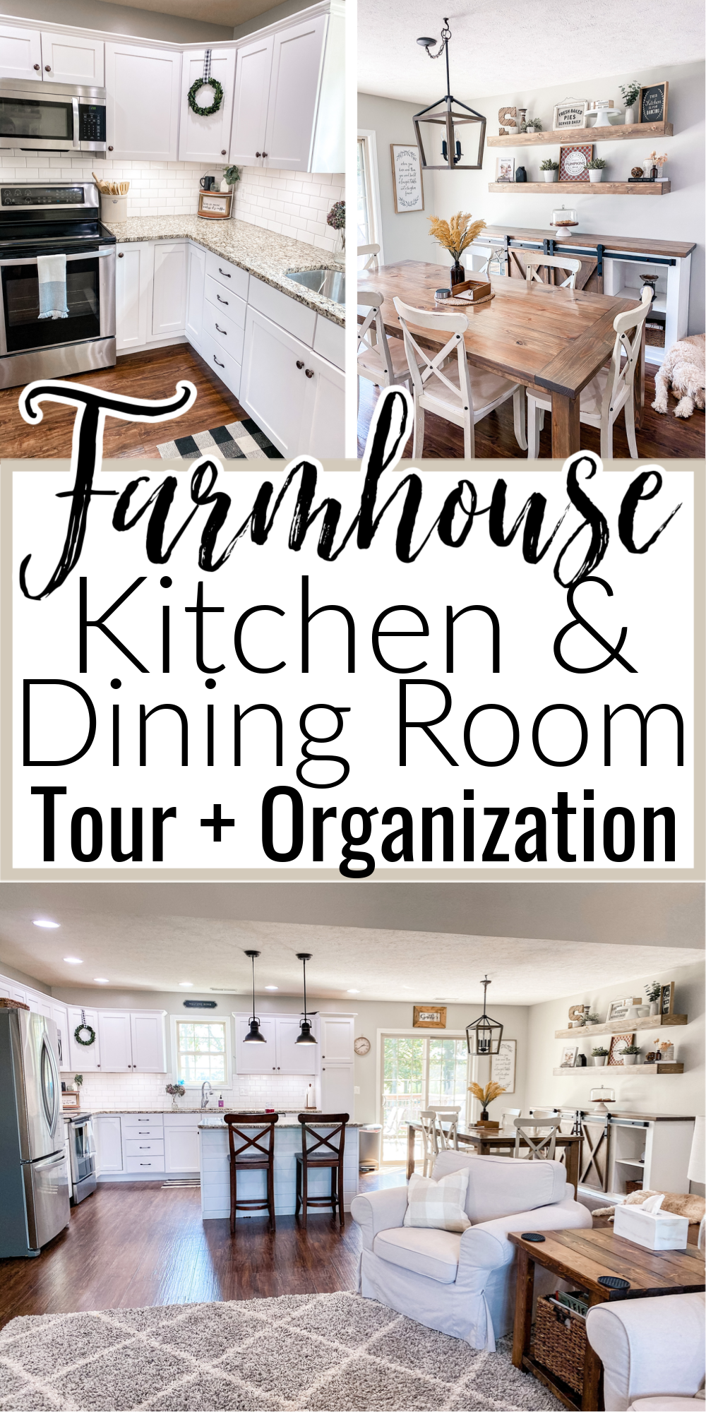 Kitchen & Dining Room Tour