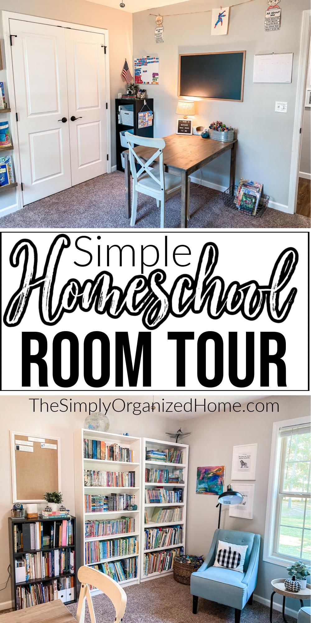 Homeschool Room Tour