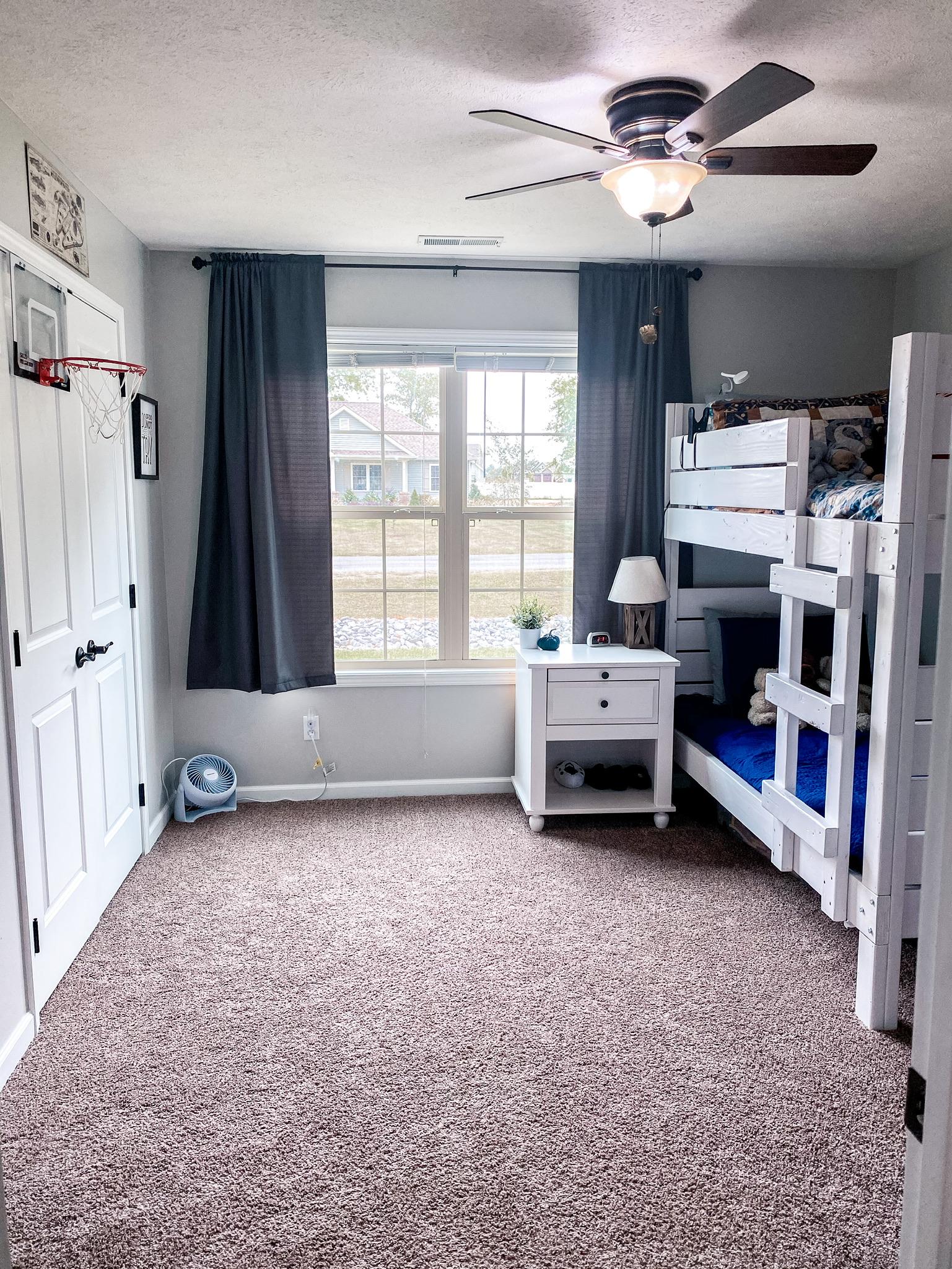 shared boys' bedroom